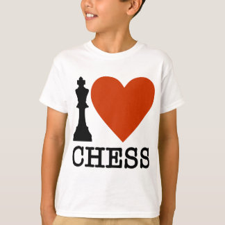 I Heart Chess T-Shirt