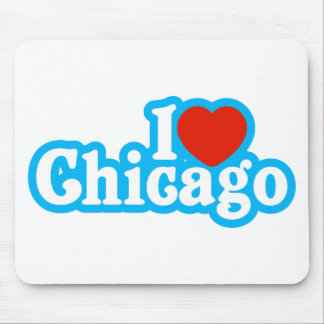 I Heart Chicago Mouse Pad