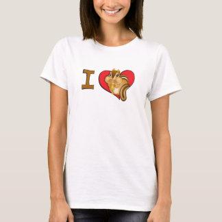 I heart chipmunks T-Shirt