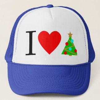 I Heart Christmas Cap