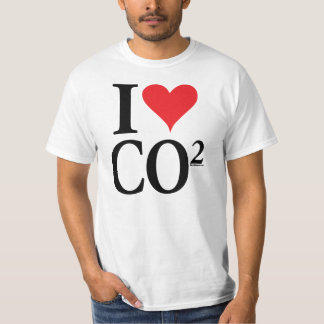 I Heart CO2 T-Shirt