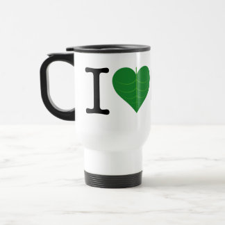 I Heart CO2 Travel Mug