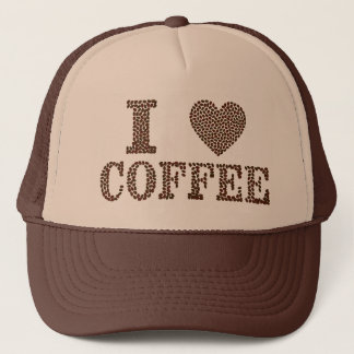 I Heart Coffee Cap