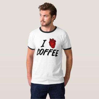 I heart coffee - I love coffee T-Shirt