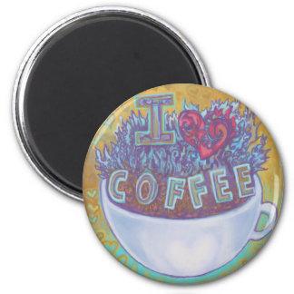 I Heart Coffee Magnet
