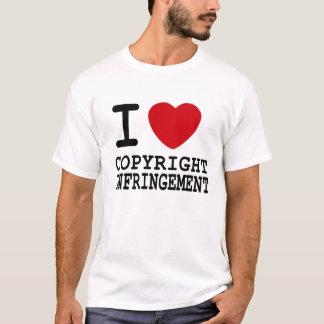 I Heart Copyright Infringement T-Shirt