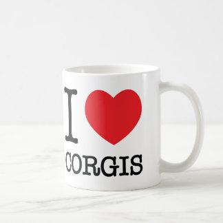 I Heart Corgis Mug