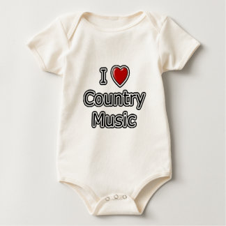 I Heart Country Music Romper
