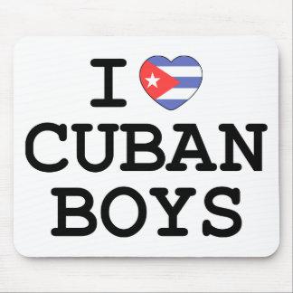 I Heart Cuban Boys Mouse Pad