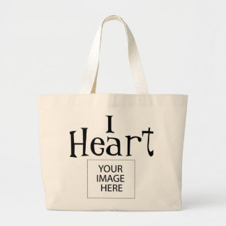 I Heart Customizable Tote Bag