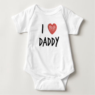 I Heart Daddy Infant Creeper