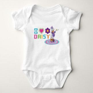I Heart Daisy Duck Baby Bodysuit