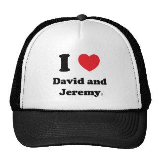 I Heart David and Jeremy Hat