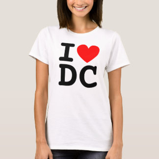 I Heart DC Shirt