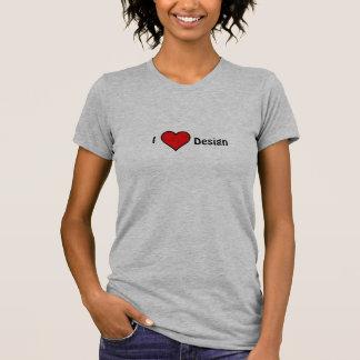 """I  """"Heart""""  Design T Shirt"""