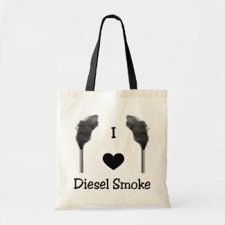 I Heart Diesel Smoke Tote Bag