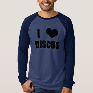 I Heart Discus, Discus Throw Shirt