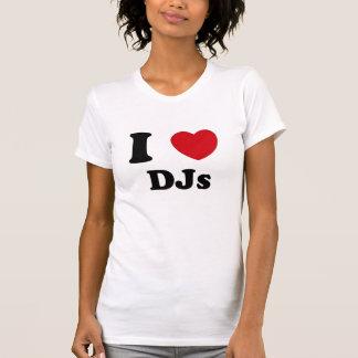 I Heart Djs Tee Shirt