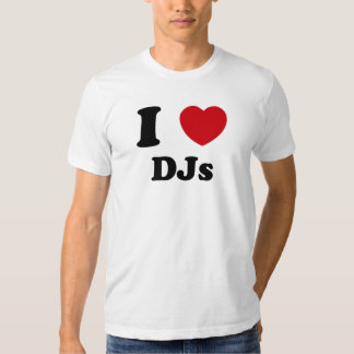 I Heart Djs Tshirt