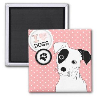 I Heart Dogs Magnet