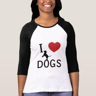 i heart dogs tee shirt