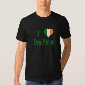 I heart Dry Stout Tshirts