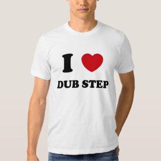 I Heart Dub Step Tshirt