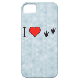 I Heart Ducks Barely There iPhone 5 Case