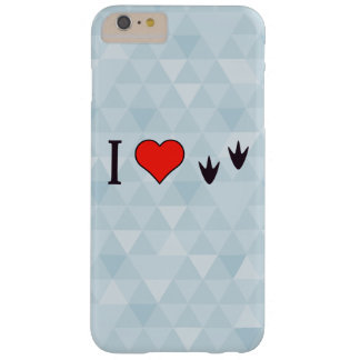 I Heart Ducks Barely There iPhone 6 Plus Case