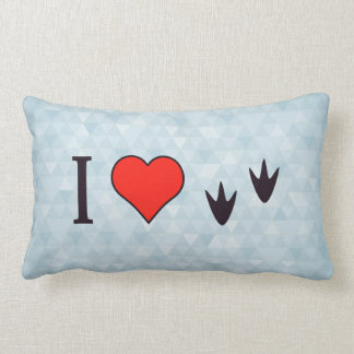 I Heart Ducks Cushions