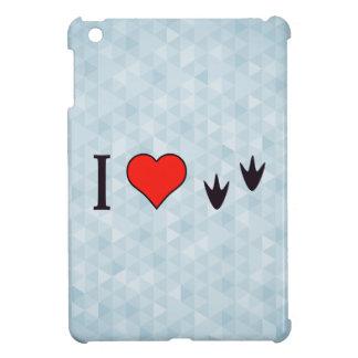 I Heart Ducks iPad Mini Covers