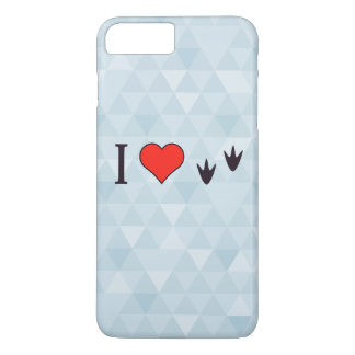 I Heart Ducks iPhone 7 Plus Case