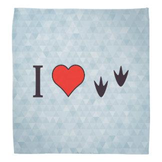 I Heart Ducks Kerchiefs