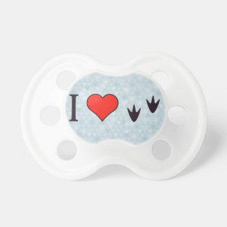 I Heart Ducks Pacifiers