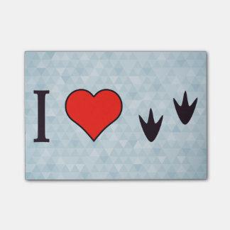I Heart Ducks Post-it® Notes