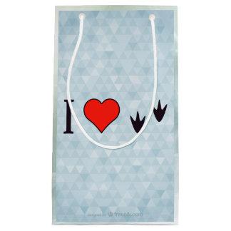 I Heart Ducks Small Gift Bag
