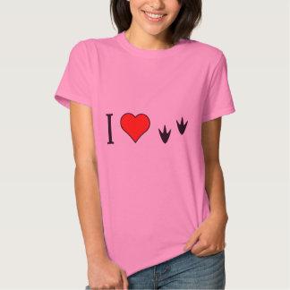 I Heart Ducks T Shirt