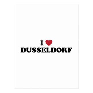 I Heart Dusseldorf Germany Postcard