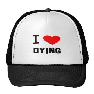 i heart dying hat