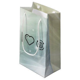 I Heart Earth Hours Small Gift Bag