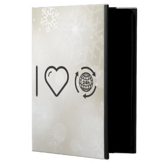 I Heart Earth Hours Case For iPad Air