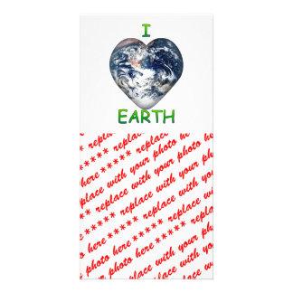 I Heart Earth I ♥ Earth Photo Card
