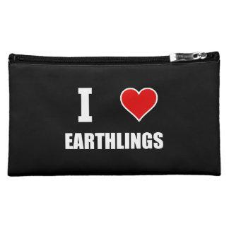 I Heart Earthlings Cosmetics Bags