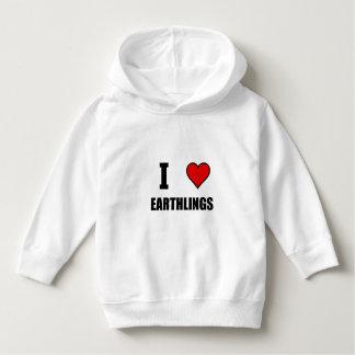 I Heart Earthlings Hoodie