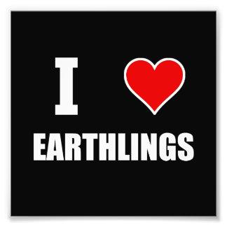 I Heart Earthlings Photograph