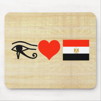 I Heart Egypt Mouse Pad