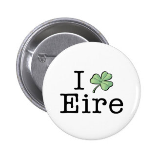 I Heart Eire 6 Cm Round Badge