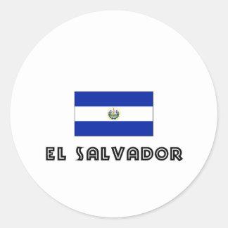 I HEART EL SALVADOR STICKER