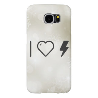 I Heart Electric Currents Samsung Galaxy S6 Cases