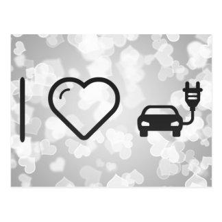 I Heart Electric Jeeps Postcard
